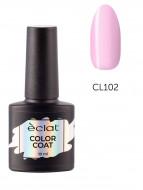 Гель лак цветной ECLAT COLOR COAT №102 10 мл: фото